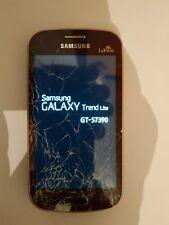 Samsung Galaxy Trend lite -  GT-S7390 - La Fleur  - vitre  a changer