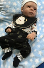 "Full Body silicone reborn baby boy 18"" - anatomiquement correct-SUPERBE"