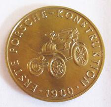 Rare Porsche Calendar Coin 1964 Christophorus Token Lohner 1900 Christo