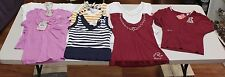 NEW WHOLESALE LOT WOMEN MIX REQUEST NAME BRAND CLOTHS MIX SIZE F TOTAL 8PCS