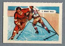1945-47 Kellogg's (Canada), 'Sports-Tips', 2nd Set, #5 Hockey 'Board Trick'