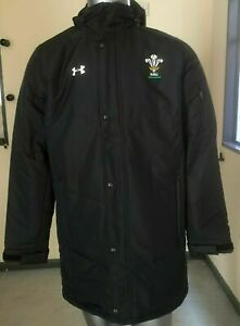 Under Armour Wales/WRU Coaches ColdGear Infrared Elevate Jacket -BNWT-RRP £149