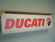 Ducati Corse Motorcycle BANNER Workshop Garage Sport Bike advertising Moto GP