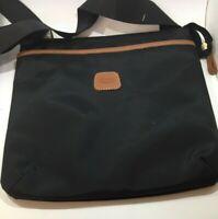Bric's Milano USA x-bag Urban Envelope Crossbody ShouldeR Bag Purse Leather Trim