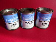 Original 1960's NOS Genuine Lambretta Touch Up Paint Cento Blue 9179