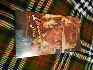 Indiana Jones and the Temple of Doom (VHS, 1989) Brand New Factory Sealed