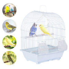 15.4''H Dome Top Parakeet Budgie Lovebird Finch Canary Travel Small Bird Cage