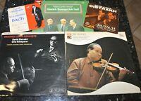 Violin Oistrakh trio SAX 2411 ASD 3312 SXLP 30168  Stereo HEAR  playing minty