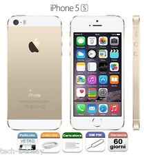 APPLE iPhone 5S 16gb GRADO C NO FINGERPRINT NON FUNZIONANTE GOLD ORO