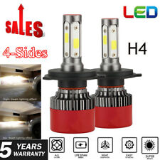 H4 / 9003 4-side LED Headlight Conversion Kit 2800W 36000LM High Low Beam Bulbs