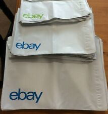 18 eBay Branded Poly Mailers Starter Pack 3 Sizes 6 Bags Each FREE SHIPPING