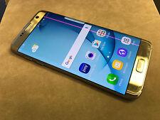 SAMSUNG GALAXY S7 EDGE  32GB - UNLOCKED - line on lcd - GOLD