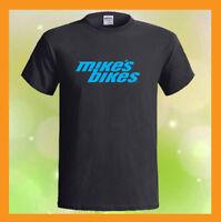 Mike's Bikes Logo MTB BMX Road Bicycles NEW Men's Black T-Shirt S M L XL 2XL 3XL