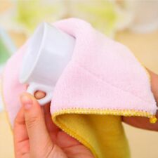 Oil Hand Dish Pad Absorbent Towel Cloth Cleaning Microfiber Rags Dishcloth