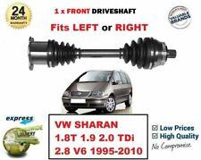 Para VW Sharan 1.8t 1.9 2.0 Tdi 2.8 1995-2010 1x Nuevo Eje Delantero