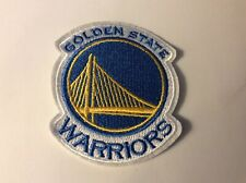 """3.5"""" NBA Golden State Warriors Iron On Embroidered Replacement Applique Patch"""