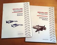 New-Holland 479 Haybine Mower Conditioner Operator's and Service Repair Manual