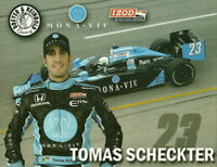 2010 Tomas Scheckter Monavie Honda Dallara Indy 500 Indy Car postcard