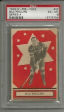 1933-34 O-Pee-Chee OPC #43 Series A Bill Phillips Rookie Card RC PSA 6 EX-MT