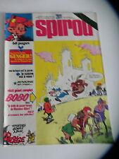 SPIROU LE JOURNAL DE SPIROU 2011 couv DELPEGE supp GINGER / JIDEHEM 1976