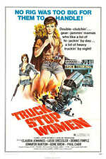1974 TRUCK STOP WOMEN VINTAGE ACTION MOVIE POSTER PRINT 54x36 BIG