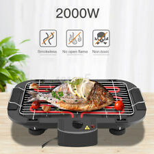 Electric BBQ Teppanyaki Grill Table Smokeless Hot Plate Non stick Barbecue Cook