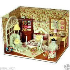 DIY Handcraft Miniature Project Wooden Dolls House The Aureate Sunlight Bedroom