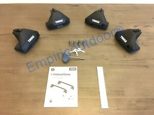 New Thule Evo Clamp 710501 & Thule One-Key System 450400. Free Expedited ship!