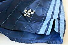Adidas vintage Nylon Shorts Gr D8 US XL Sporthose 80s 80er shiny blau Sprinter