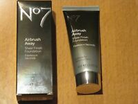 No7 Airbrush Away Sheer Finish Foundation 40ml