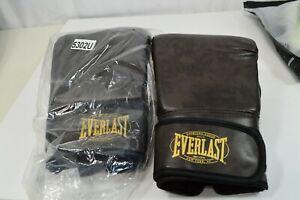Everlast 5302U Brown MMA Heavy Bag Training Gloves L/XL