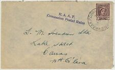 63146 - AUSTRALIA - POSTAL HISTORY - FIELD MAIL:  ROYAL AUSTRALIAN AIR FORCES