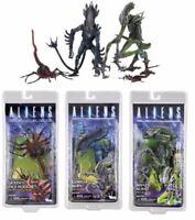 "7"" Aliens Mantis/Orangutan Alien queen face hugger Action Figure NEC A Series 10"