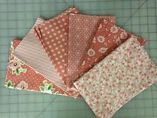 Moda Olives Flower Market Fabric Fat Quarter Bundle Lella Boutique in Rose