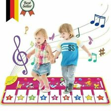 Kinder Musikmatte Spielzeug Ab 1 2 3 4 5 6 Jahre Mädchen Junge Lernspielzeug Neu