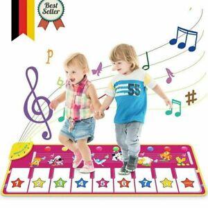 Musikmatte Spielzeug Maedchen 1 Jahr, 2 ,3,4 Jahre,Klaviertastatur Tanzmatte toy