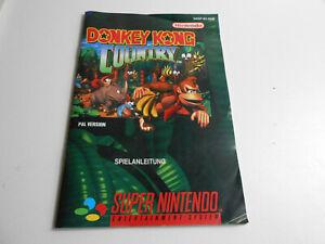 Anleitung zum Super Nintendo / SNES Spiel Donkey Kong Country / SNSP-8X-NOE