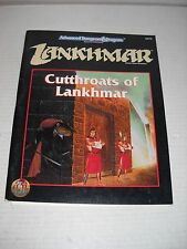 AD&D Lankhmar Cutthroats of Lankhmar accessory - missing map