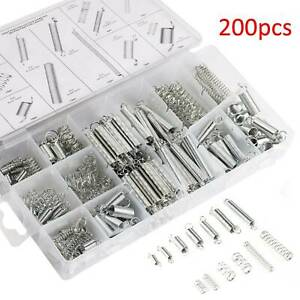 Spring assortment set 200pc Extension Tension Expansion Compressed Springs
