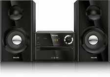 Bluetooth Wireless Music System Stereo Speaker Micro Mp3 CD USB Iphone Philips