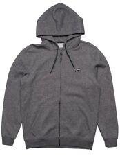 Rip Curl Men's Destination Fleece Hoodie Sweater Zip Gray Charcoal Large NEW NWT