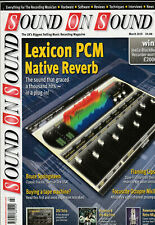 SOUND ON SOUND Magazine March 2010 - Lexicon PCM Native Reverb