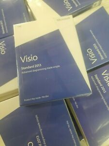 Microsoft Visio Standard 2013 (1 License) Full Version Windows - No Subscription