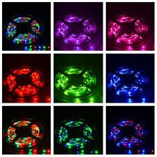 5M 16.4ft 3528 SMD LED RGB NON-Waterproof 300 Flexible LED Strip Light Tape 12V