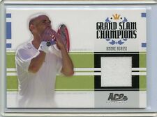 2005 ACE AUTHENTIC GRAND SLAM CHAMPIONS ANDRE AGASSI WORN JERSEY # 029/500
