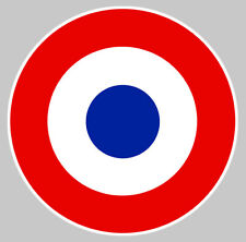 COCARDE FRANCE AUTOCOLLANT STICKER ARMEE FRANCAISE AVIATION AVION ROUNDEL CA124