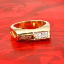 Ringe aus Gelbgold mit sehr gute (18,1 mm Ø) 57