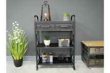 Industrial Shelving Unit with 2 Drawers