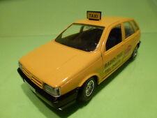 BBURAGO FIAT TIPO - RADIO TAXI AUTORADIO - YELLOW 1:24 - VERY GOOD CONDITION