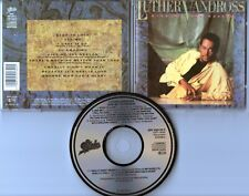 Luther Vandross CD GIVE ME THE REASON © 1986 JAPAN FOR EUROPE Epic EPC 450134 2